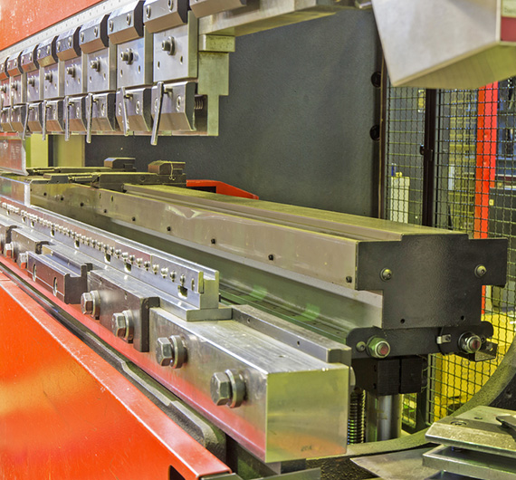 modern press brake in manufacturing